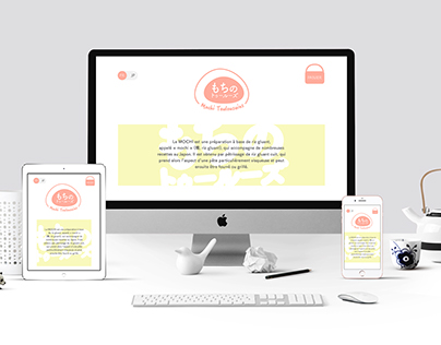Mochi Toulousains, identité et site responsive