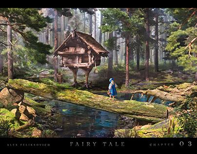 Fairy tale 03: The Magic Swan Geese