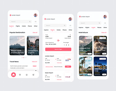 Travel order app