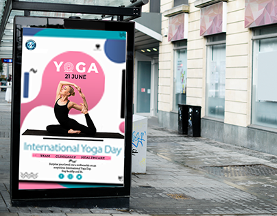INTERNATIONAL YOGA DAY - Social Media Post