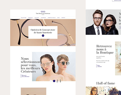 The House Of Eyewear | Website