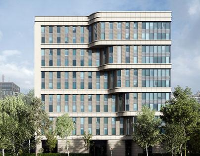 CGI:Office Building On Leninsky