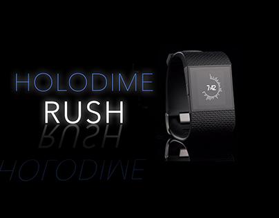 Holodime RUSH - Futuristic Interface