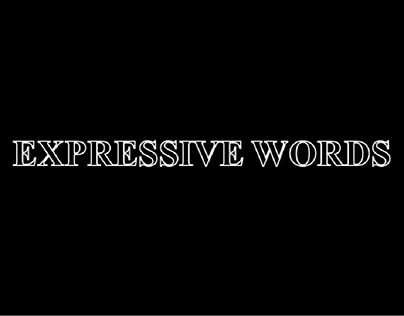 """Expressive Words"""