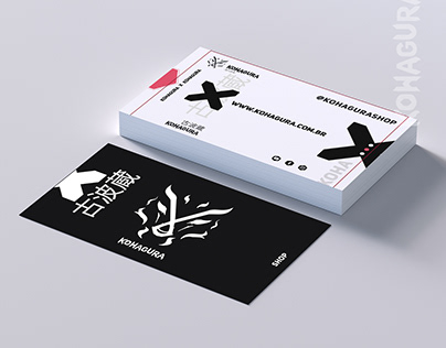 Business Card - KohaguraShop