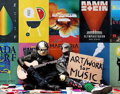 Whatever Artbook. Art/Work for Music.
