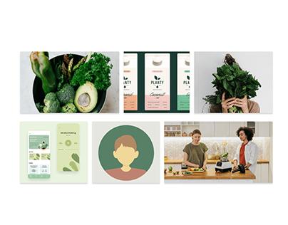 MoodBoard - App alimentaire