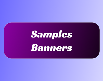 Samples Banners
