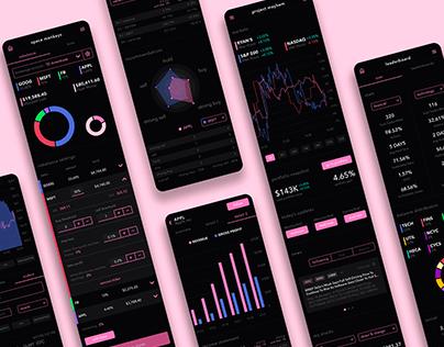 Investment & brokerage mobile app
