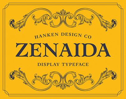 Zenaida — Display Serif Typeface
