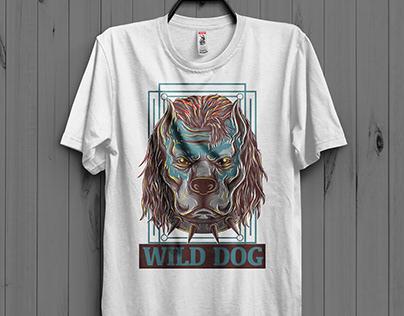 Wild Dog T-Shirt Design