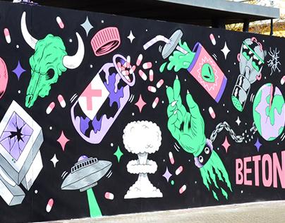 ROYAL BETON x Mural