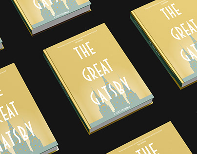 The Great Gatsby Book Cover Design