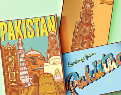 Post Card Collection - Made of Pakistan
