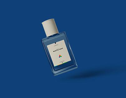 Realistic Cologne Perfume Mockup