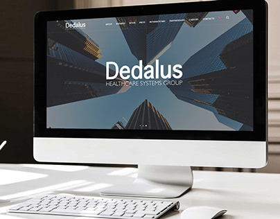 Dedalus website restyling