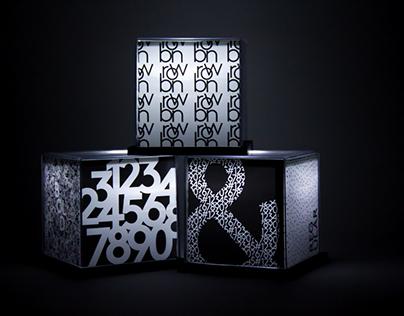 Brown Typeface Packaging