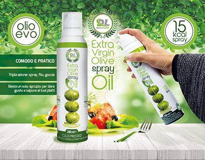 Extra Virgin Olive Spray Oil