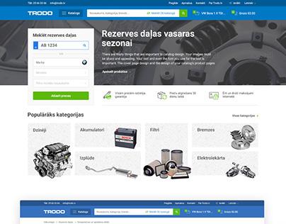 TRODO - Rezerves daļu veikals