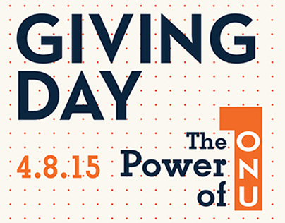 ONU GIVING DAY 4.8.15