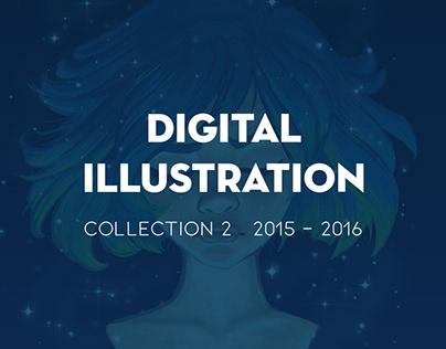 Digital Illustration 2015-2016