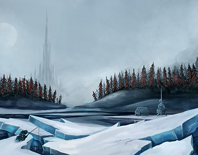 Icy Landscapes