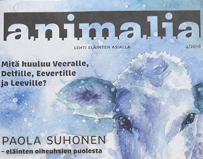 Animalia -magazine. 4/16 and 1/17