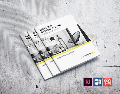 Creative Interior Design Brochure