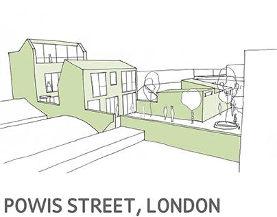 Powis Street, London
