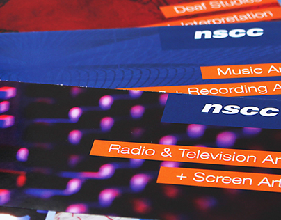 NSCC Applied Arts and New Media Brochures