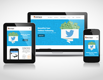 Twt2Pay landing page