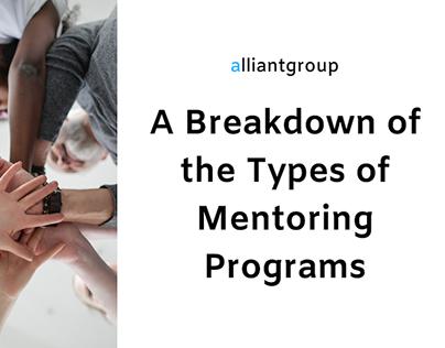 A Breakdown of Types of Mentoring Programs