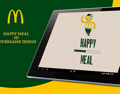 HAPPY MEAL 2D ADVERGAME DESIGN
