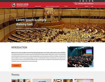 Grafton Center web design