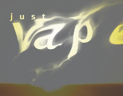 just vape website concept