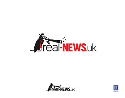 Logo for a News Site