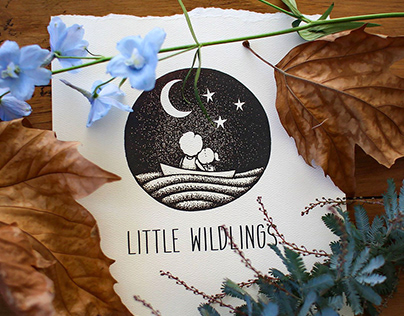 Little Wildlings Logo Design