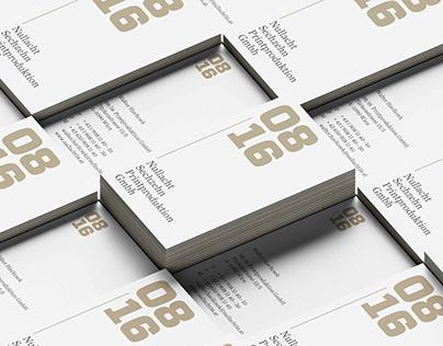 Nullacht 16 – Corporate Design