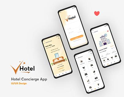 Hotel Concierge Mobile App Design