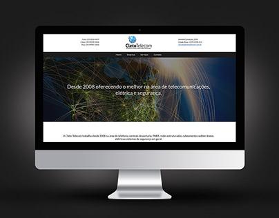 Web | Site Cleto Telecom