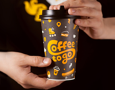 Coffee to go on behance for Coffee to go