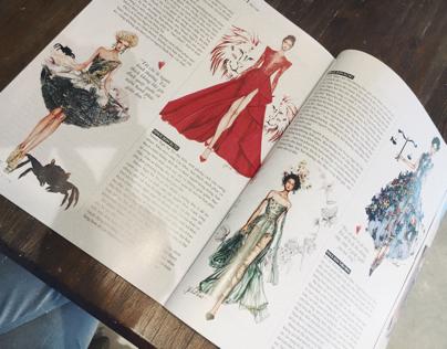 Horoscope for Elle Magazine Vietnam