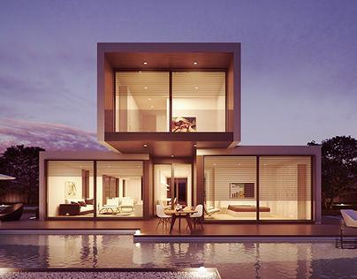 Renders de casas varios Interiores y exteriores