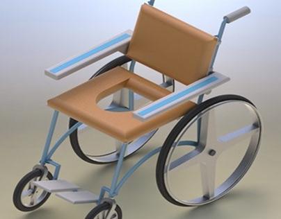 Libero: Cadeira higiênica
