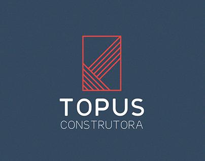 Topus Construtora - Identidade Visual / Branding