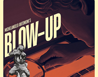 Blow-up (1966) alternative poster