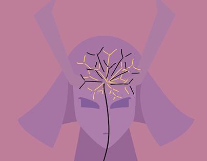 Samurai Flower 2D Animation