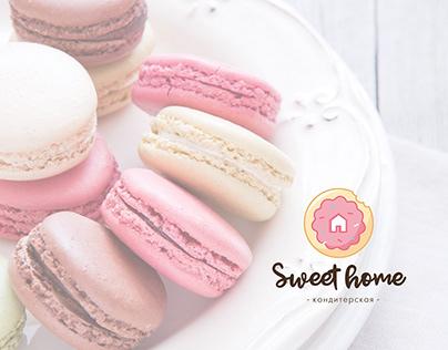 """Логотип для кондитерской """"Sweet home"""""""