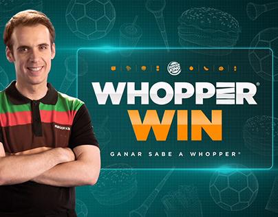 Burger King / Whopper Win / Digital