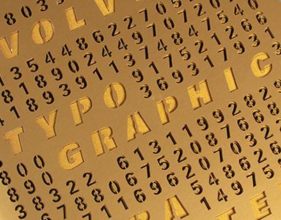 Evolving Typographic Parameters